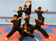 San Jose Kids Kung Fu Class Wu Shu Team Sun's Kung Fu School center